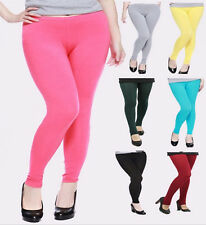 Womens Plus Size XL 2X 3X 4XL Warm Modal Thick Tights Skinny Leggings Pants
