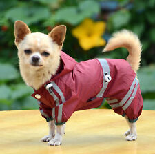 2014 new arrival raincoat with glisten bar dog clothes for pet accessory(PTS004)