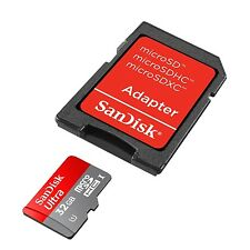 New Version SanDisk ULTRA 8GB 16GB 32GB 64GB microSD SDHC card with adapter C10