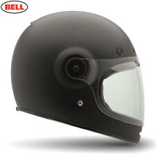 BELL STREET MOTORCYCLE CLASSIC OLD STYLE FULL FACE HELMET RETRO BULLITT SOLID MA