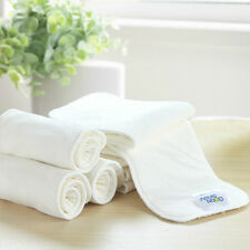 5 layers High Quality Super Soft Bamboo Fiber Insert Liners For Cloth Diaper New