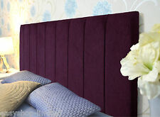 Stylish VEGAS Chenille Fabric Upholstered Headboards Queen Size Bed Home Design