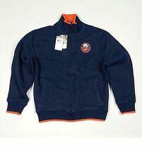 Reebok NHL Hockey New York Islanders Fleece Track Jacket - Navy