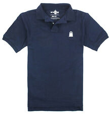 Doctor Who Official Tardis Embroidered Logo Adult Polo