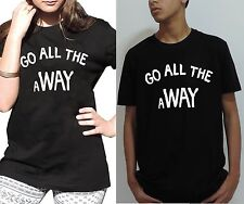 Go All THE WAY aWAY Luke Hemmings t shirt 5 Seconds of Summer 5SOS tops Swag