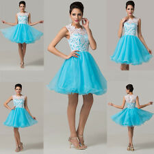 2014 Short Formal Cocktail Party Prom Bridesmaid Evening Wedding Dresses CHEAP~