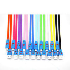 1 PC New Fashion Smile Face Personality LED Light USB Data Link FOR Samsung HTC