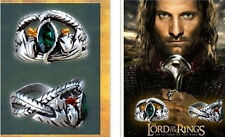 Hot Sale Lord Of The Ring Crystal Ring Barahir Leopard Ring Men's Jewelry cy547