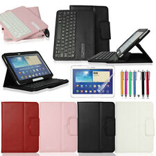 Bluetooth Keyboard PU Leather Cover Case for Samsung Galaxy Tab 4 T530 T531 T535