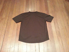 PREM GRADE - British Army Issue BROWN Self Wicking T Shirt (Hiking / Running)