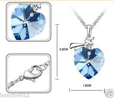 Wholeheartedly Swarovski crystal necklace with diamond