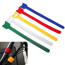 5/10/20/50x Reusable Velcro Cable Adjustable Ties Tidy Straps Wrap Hook & Loop