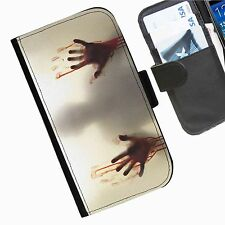 The Walking Dead Leather wallet personalised phone case for Nokia Lumia Phone