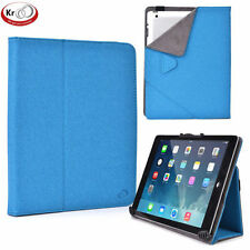 Kroo 8 to 10 Inch Universal Tablet Folio Case with Camera Fold
