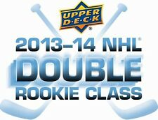 COMPLETE Team Base SET 2013-14 Upper Deck Series 1 and 2 Hockey - YOU PICK TEAM