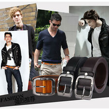 P-837 Fangle 2017 Men's Genuine Leather Waist Stylish Fashion Belt Free P&P