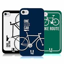 HEAD CASE FIXED GEARS TPU GEL BACK CASE COVER FOR APPLE iPHONE 4S