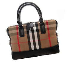 Fashion Leather like Canvas Handbags Classic Plaids Women Shoulder Crossbody Bag
