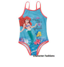 MY LITTLE MERMAID ARIEL 4 5 6 6X 7 8 Girl SWIM BATHING SUIT One Piece DISNEY