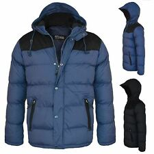 New Kids Boys School Fur Hooded Bomber Winter Parka Lined Padded Jacket Coat