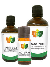 100% Natural Patchouli Essential Oil - Multi Size, FREE P&P (Aromatherapy)
