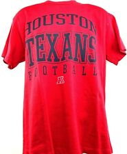 Houston Texans Football Adult Houston Logo Texans Short Sleeve T-Shirt Red New