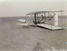 1903 Wilbur Wright in Airplane Kitty Hawk Historical Photo