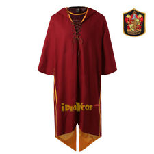Harry Potter Gryffinder Slytherion Ravenclaw  Quidditch Cosplay Robe