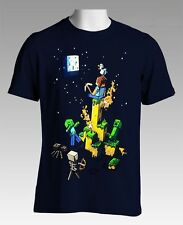 Minecraft Tight Spot Youth's Dark Blue Color Official Licensed T-Shirt