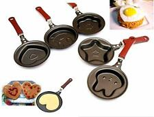 HO CA New Outdoor Kitchen Non-stick Stainless Steel Frying Pan Cartoon Egg Pot