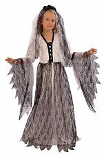 Corpse Bride, Ghost, Zombie, Halloween, Girls/Childrens Fancy Dress Costume