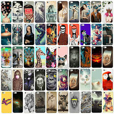 Various Cute Animal With Figure Pattern for Apple Iphone 5c 5 4s Case Cover Skin