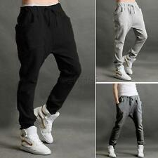 Mens Womens Casual Harem Baggy HIPHOP Dance Jogger Sport Sweat Pant Trouser WEI