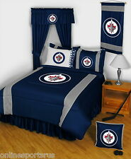 Winnipeg Jets Bed in a Bag Set Twin to King Comforter Set