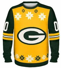 Green Bay Packers Ugly Sweater - Almost Right - NEW NFL Christmas Holiday