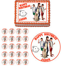 Diary Of a Wimpy Kid Dog Days Edible Birthday Party Cake Topper Cupcake Image