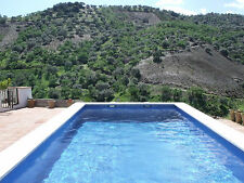 -HONEYMOON SELF CATERING HOLIDAY IN SPAIN, LOVELY POOL TV WIFI STUNNING VIEWS