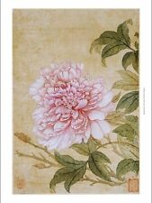 """YUN SHOUPING """"Peony"""" Chinese CANVAS ART ! choose SIZE, from 55cm to X LARGE, NEW"""