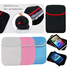 Soft Sleeve Tablet PC Case Pouch Bag For 10.1 Samsung Galaxy Note Tab iPad Asus