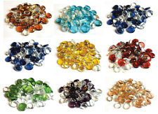 Crystal Mixed Packs of Decorative Round Glass Pebbles / Stones / Nuggets / Beads