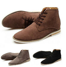 New arrival British Men Casual Business Suede Lace up Ankle Boots Sneakers Shoes