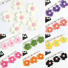 Flower Girl Costume Hair Accessories Embellishment DIY Sewing On Applique 2""