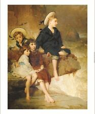 GEORGE ELGAR HICKS Children print ON CANVAS choose SIZE, from 55cm upwards, NEW
