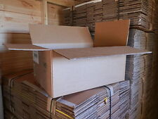 """Once Used Very Strong Double Walled Packing Cardboard Boxes 15""""x10""""x11"""" 24HR P+P"""