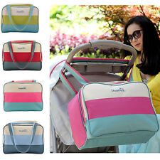 22 L Baby Diaper Nappy Changing Bag Mat Mummy mother Tote Shoulder Handbag
