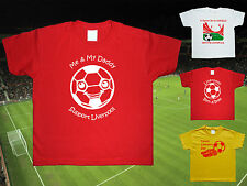 LIVERPOOL Football Baby/Kids/Children's T-shirt Top Personalised-Any colour/team