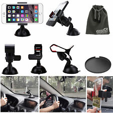 EEEKit 3in1 Car Mount Holder Kit for iPhone 6/6 Plus/5s/5c/5 Samsung GalaxyS5/S4