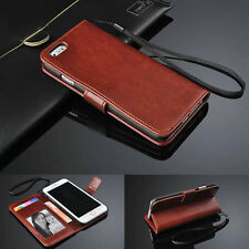"""Flip Wallet Cards Holder PU Leather Case Cover For iPhone 6 & iPhone 6 Plus 5.5"""""""