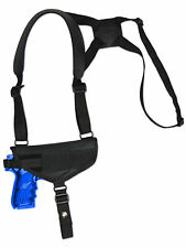 NEW Barsony Cross Harness Gun Shoulder Holster Browning Colt Full Size 9mm 40 45
