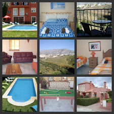 -SELF CATERING SPANISH HOLIDAY, NEAR MALAGA , SLEEPS 13, WIFI & LARGE POOL